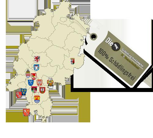 Übersichtskarte unserer Standorte